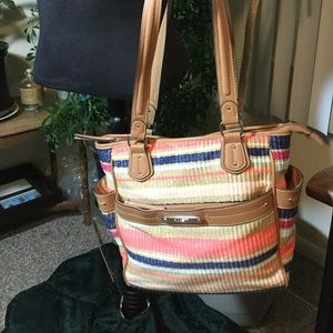 Rosetti Spring Straw Bag